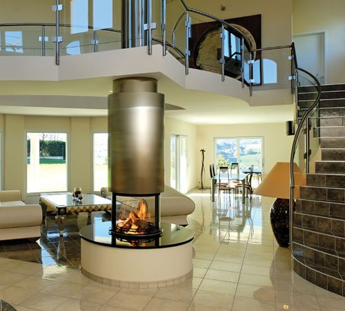 Pinterest the world s catalog of ideas for Central fireplace