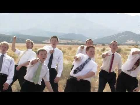 """This is so cute! Theres nothing like a whole stake of boys singing this to the young women! They did because Pres. Monson said every women deserves to be told she's beautiful! Pure Genuis!"""" It was presented to the YW of the stake for their night of excellence. All the boys should do this!!"""