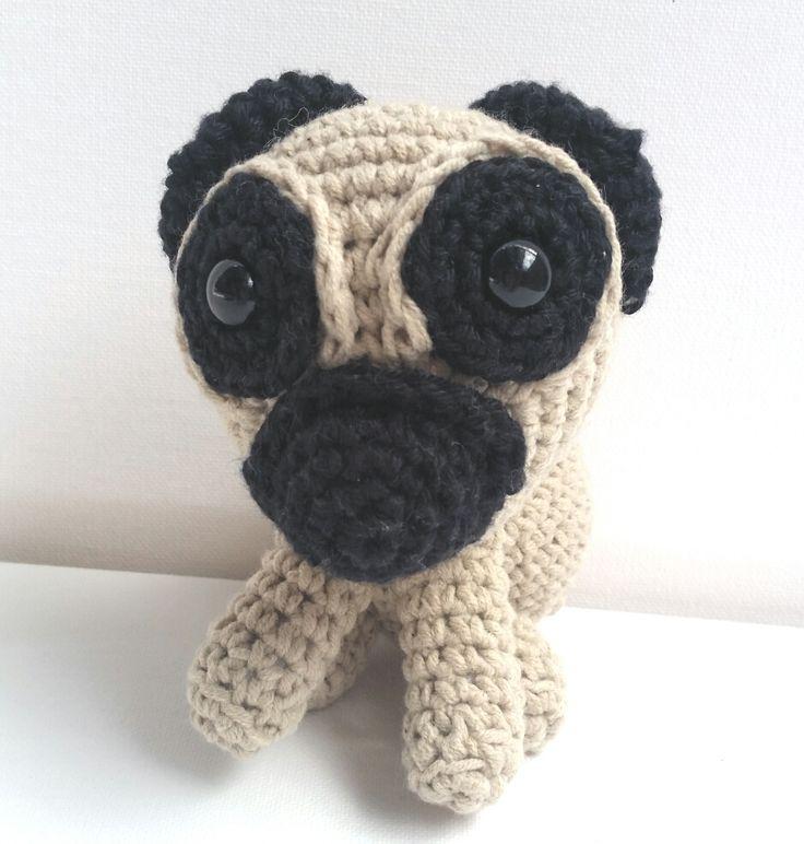 KaTerri Creations,Pug, 14cm, $30