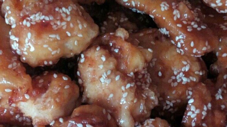 Kínai szezamos csirke