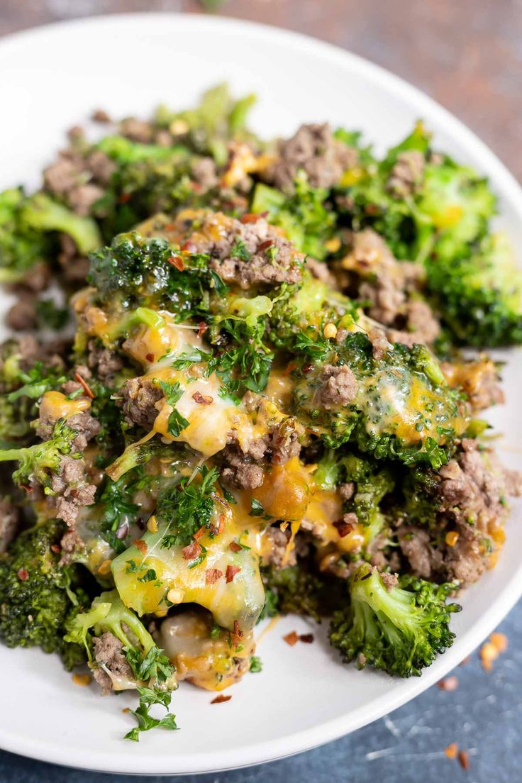 LOW CARB GROUND BEEF and BROCCOLI + Tasty Low Carb Recipes ...