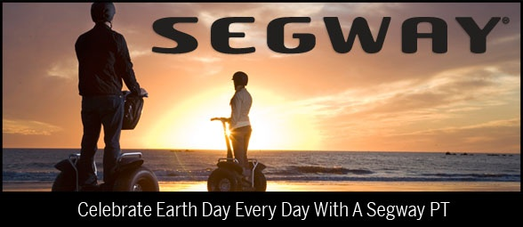 Celebrate Earth Day Every Day with a Segway PT