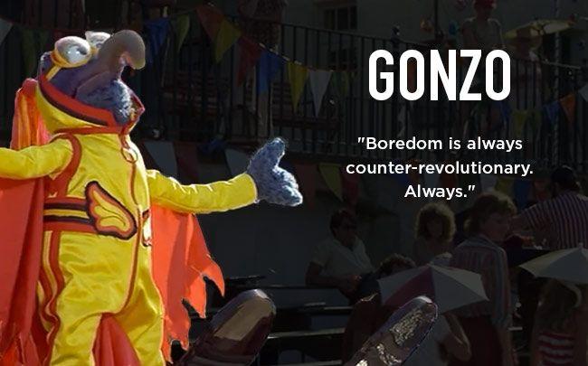 Guy DeBord's Muppets - Gonzo