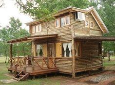 modelos de cabañas rusticas de madera