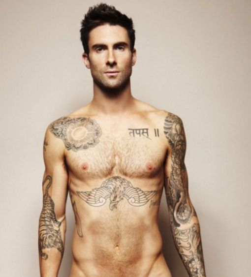 Maroon 5 (yes I know this picture is just Adam Levine but let's be real here....)