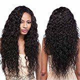 Echo Beauty Top 8A Peruvian Virgin Human Hair Lace Front Wigs for Black Women Curly Wave Handmade Human Hair Wigs Natural Color Medium Cap 150% destiny 10inch