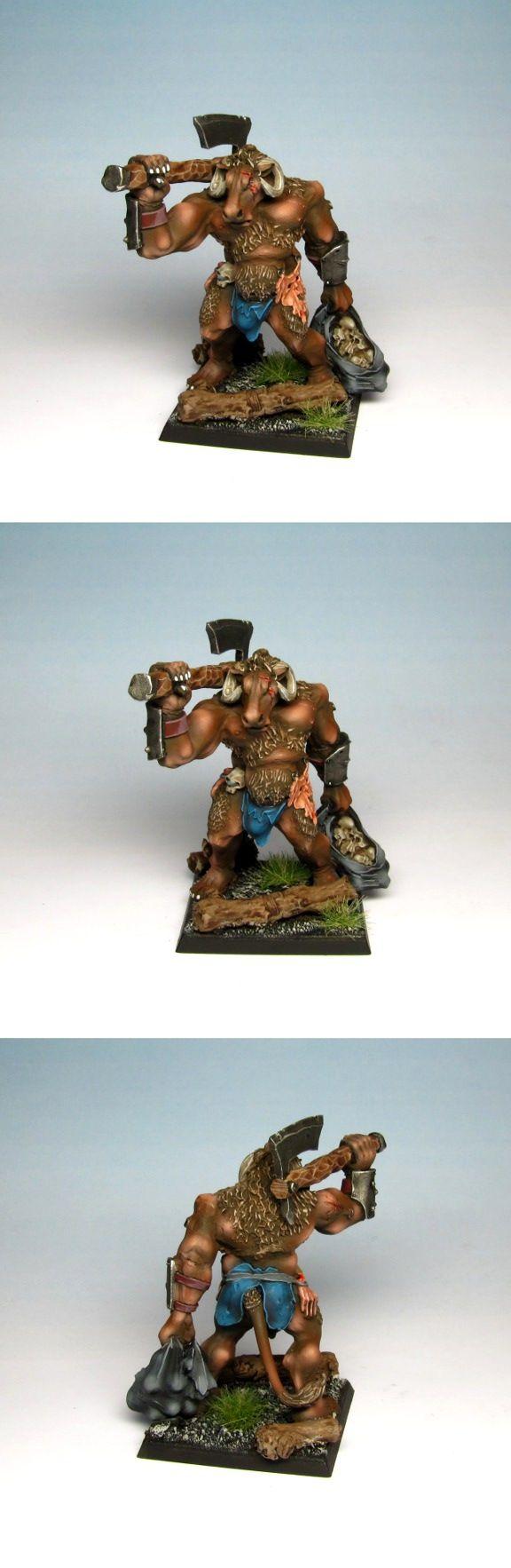 Beastmen Minotaur. #beastmen #warhammer #mordheim #miniaturepainting