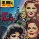 Gina Lollobrigida, Delia Scala, Tamara Lees, Vita da cani, Les films pour vous Magazine 03 October 1960 Cover Photo - France