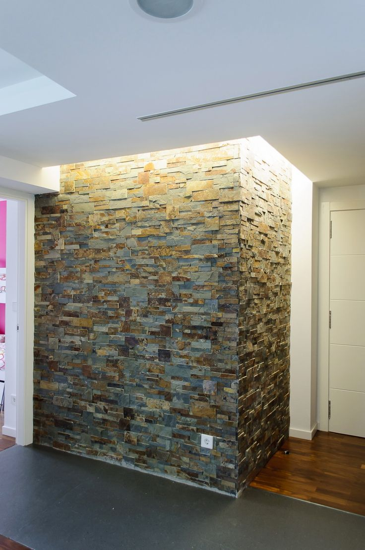 Las 25 mejores ideas sobre revestimiento de piedra en - Revestimiento interior de paredes ...