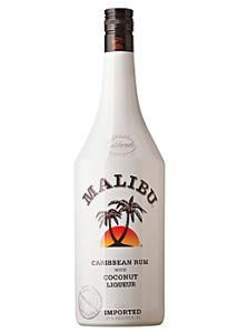 Malibu is a coconut rum made with natural coconut extract by the French company Pernod Ricard.
