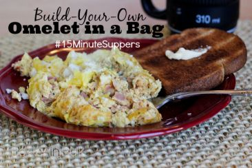 Build your own omelet in a bag
