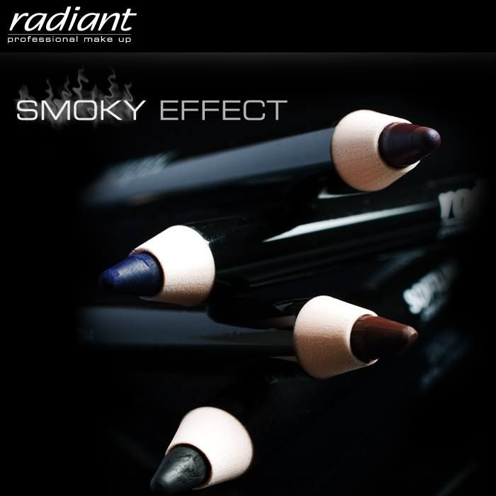 Choose within a variety of #eye #pencils for a #smoky, #sexy and #mysterious look, on a night you want to impress... #Radiant #Professional #Makeup