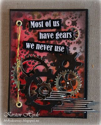 My Craft and Garden Tales: ATC - Artist Trading Cards