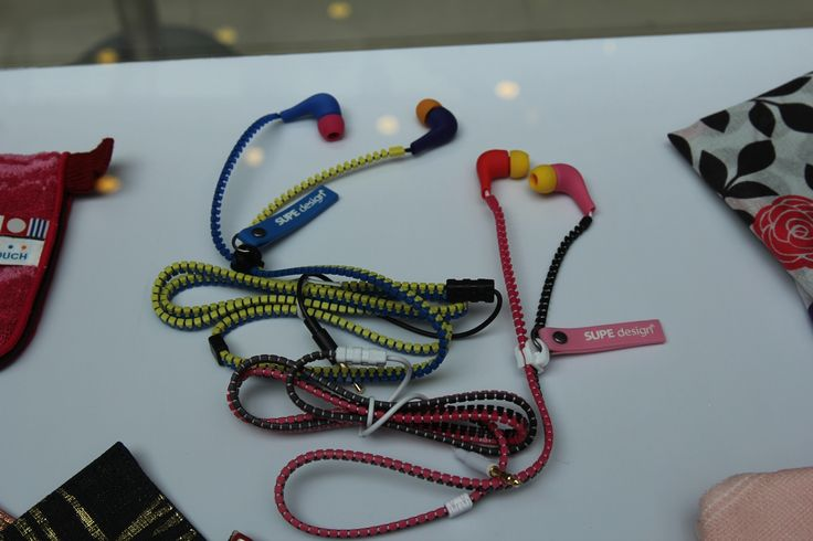 Some of the products being sold by the vending machine include nail wrap, hair chalk, traditional Japanese handicrafts and earphones.