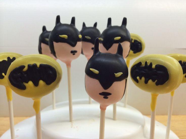 Best 25 Batman Cake Pops Ideas On Pinterest Superhero