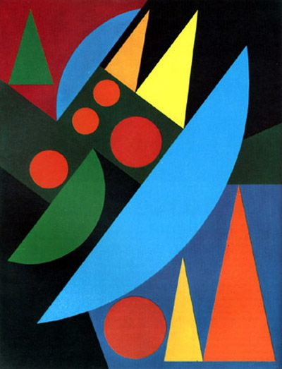 93 best art auguste herbin images on pinterest cubism for Auguste herbin