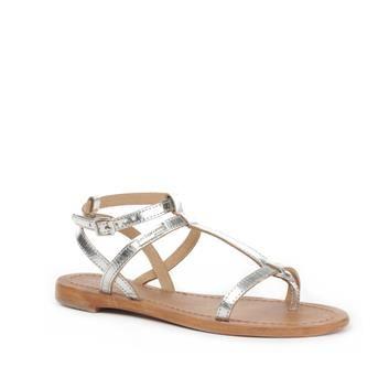 Zilveren sandalen | Les Tropeziennes | Brantano