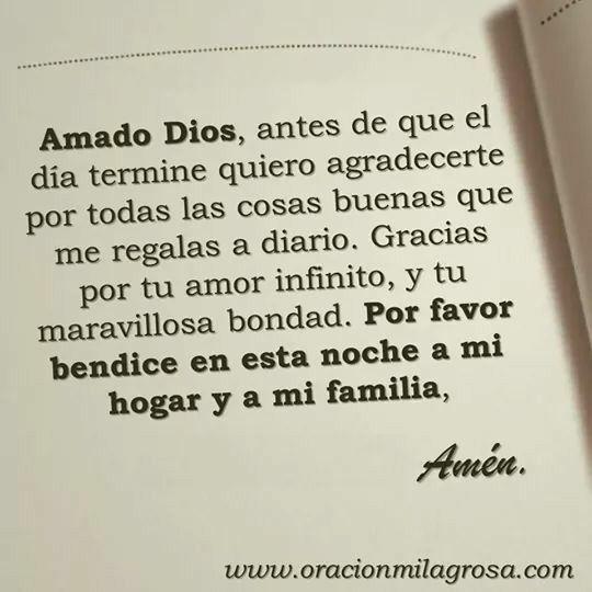 Amado Dios...