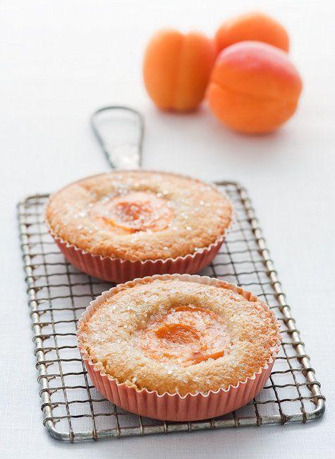 Apricot tea cakes.
