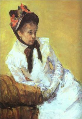 Cassatt 'Self Portrait'