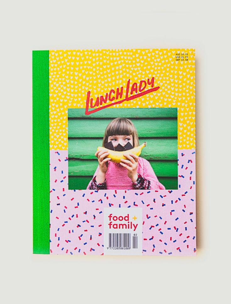 Lunch Lady Issue Two. Pinecones, Honey Cakes, Baked Apples + Art.  Lunch Lady Magazine available at http://shop.hellolunchlady.com.au/