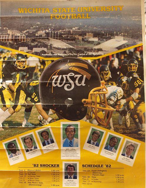 1982 WSU Football poster! #WATCHUS