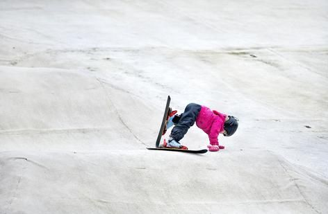 Outdoor Ski, kids, Rotterdam. Rookie