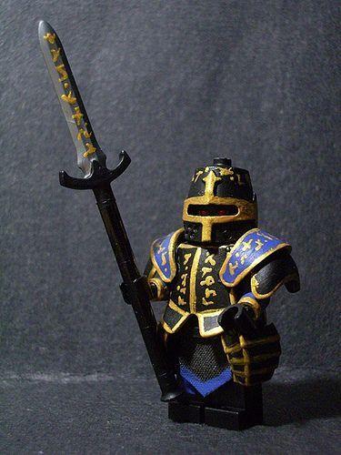 Lego Chaos Paladin Gorz Custom Minifigure - Damn cool!