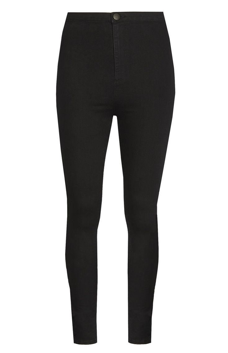 Primark - High Waisted Black Jeans
