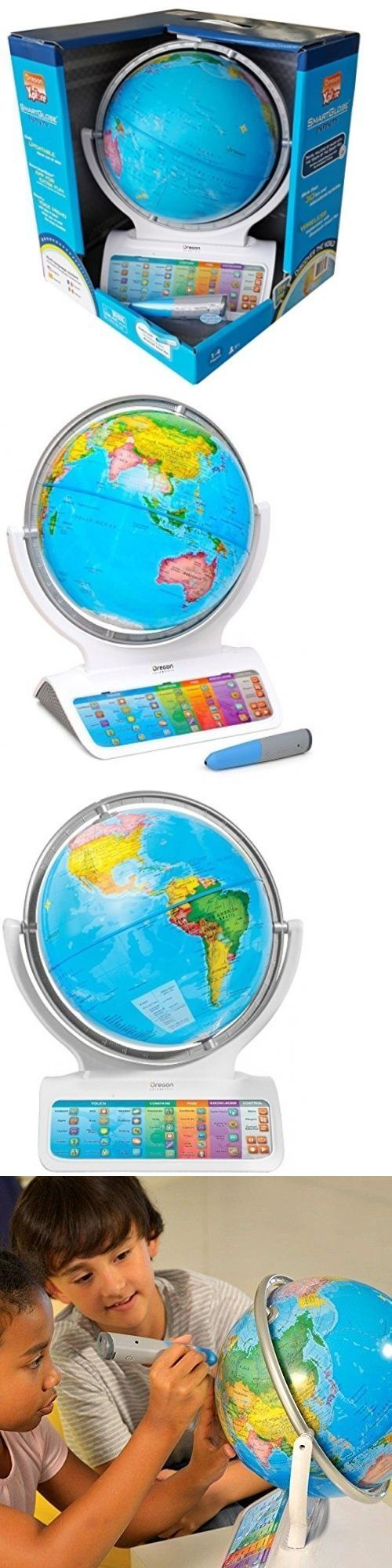 Geography and History 11733: Smart Globe Infinity Sg318 Interactive Globe With Wireless Smart Pen Educational -> BUY IT NOW ONLY: $58.95 on eBay!