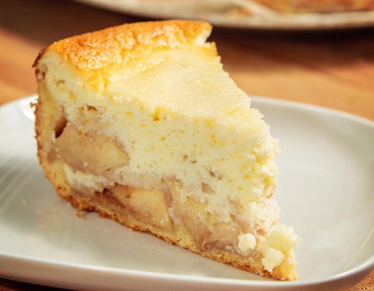 Tarta cu mere si crema de iaurt