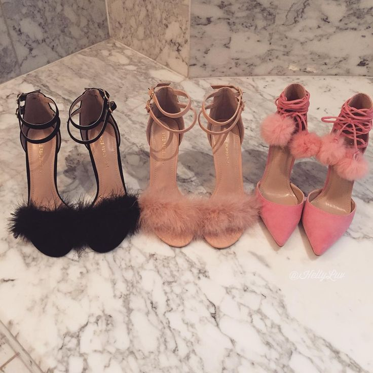 Heels, Head and Standards......All High