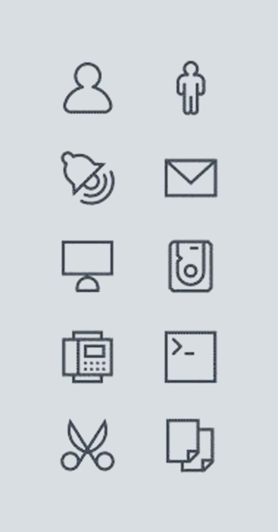 1037 icons, free or $25 by Icojam