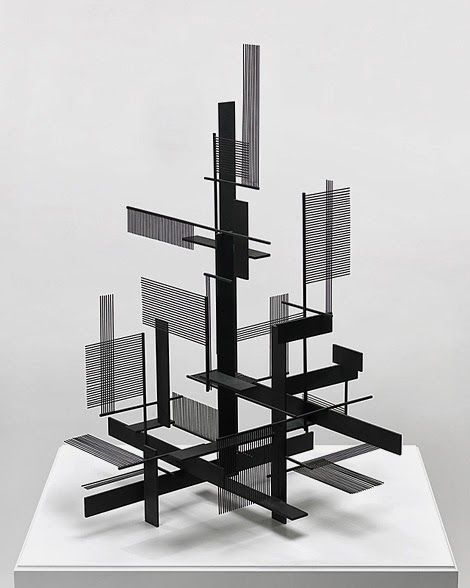 Sidney Gordin Construction No. 1954 Black Painted Steel, X 66 X Cm). Find  This Pin And More On INSPIRATION IDEA    Visualizing Architecture ...
