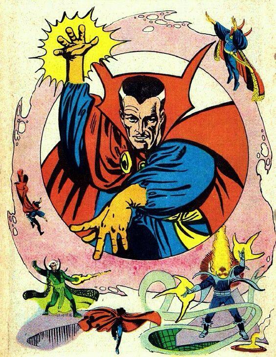 Doctor Stephen Strange - Master of the Mystic Art - Marvel Comics