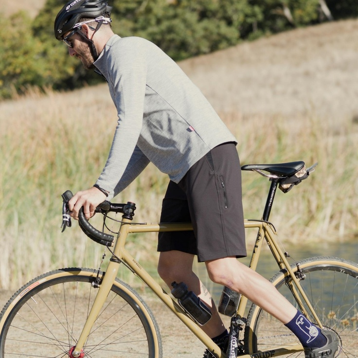 Giro New Road // 40M TECH OVERSHORT - sewn in California