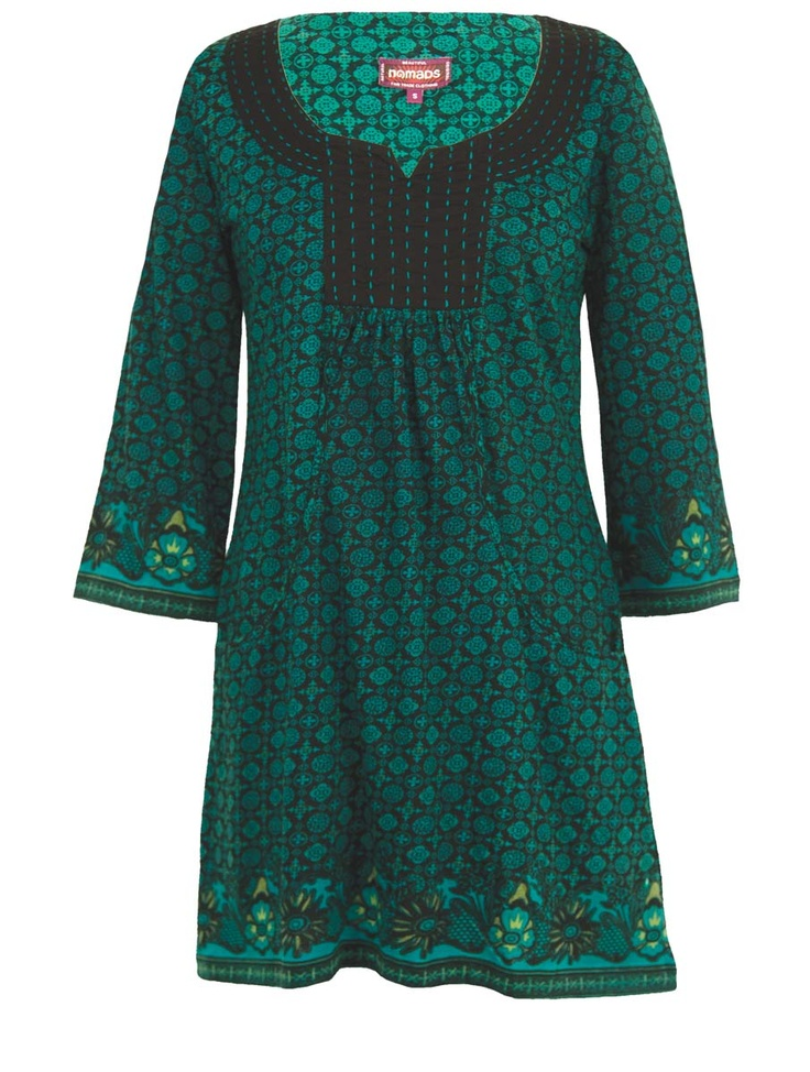 Fair Trade Mosaic Tunic Top | NG47 | Nomads Clothing -- pretty with leggings!