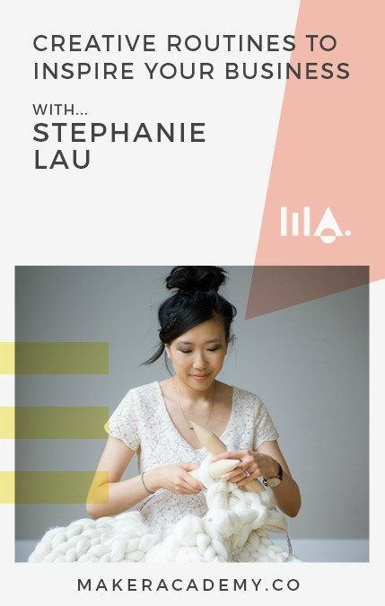 "Stephanie Lau of @allaboutami Is all about community. ""Connecting with people who are passionate about what you are passionate about both online and offline is amazing! Valuing community over competition is key!"