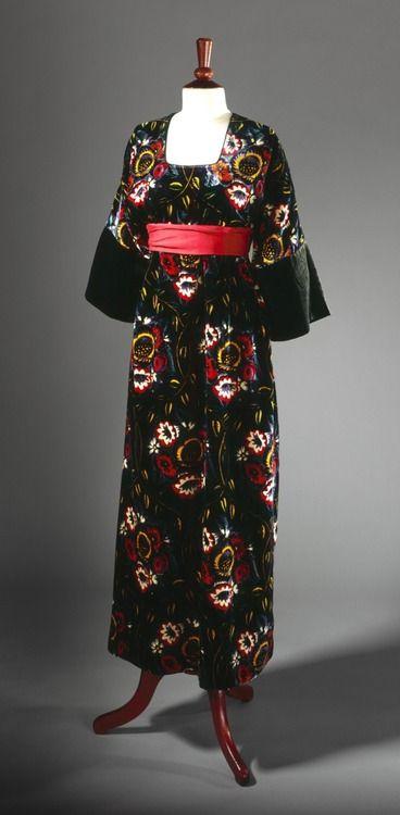"""Vitrail"" 1913 dress by Paul Poiret.  Via The Los Angeles County Museum of Art."