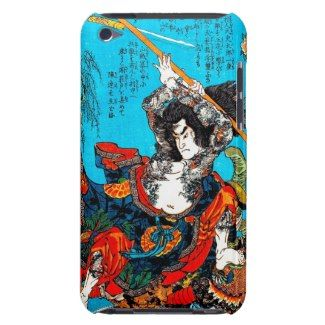 Legendary Suikoden Hero Warrior Jo Kuniyoshi art Barely There iPod Cases #case #tattoo #suikoden #hero #warrior #jo #kuniyoshi #art #classic #japanese #oriental #Japan #samsung