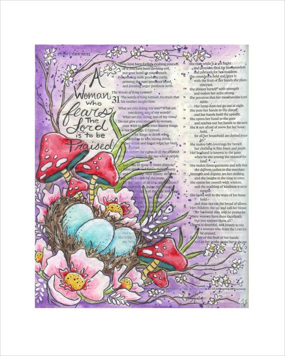 This is a print straight out of my bible highlighting Proverbs 31 a new series from the bible journaling I have been doing. Keep in mind these are