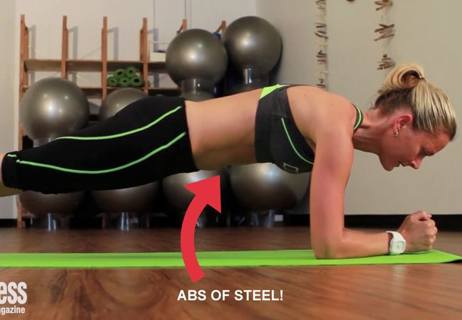 Want to blast fat? Lay off the 100 sit-ups and instead do planks, with low reps and time. That's just ONE training secret... there's 11 more ;)