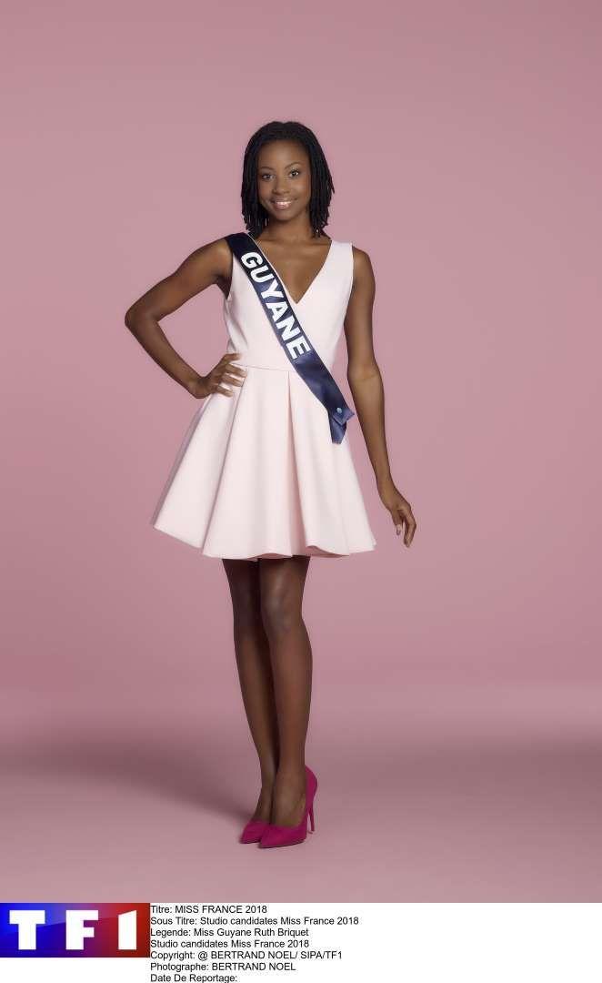 Miss Guyane: Ruth Briquet 24 ans - 1,75 m - Titulaire d'un Master 2 en Finances