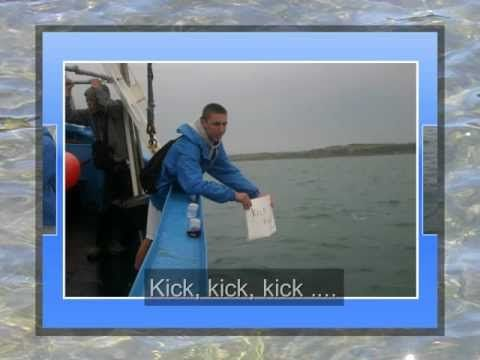 Pat's English Channel Swim August 22, 2011 - YouTube