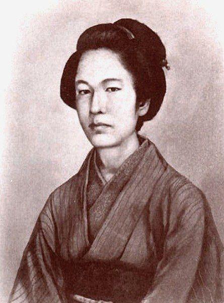 Накано Такэко (1847 — 10 октября 1868) Женщина - воин, погибшая при защите замка Айдзу-Вакамацу в войне Босин