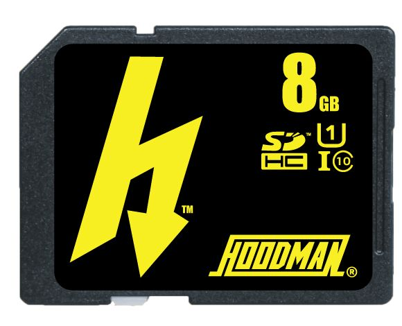 The H-Line memory cards from Hoodman!