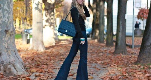 Pantaloni a zampa per l'a-i 2015: di nuovo di moda il mood Seventies - Mamme a spillo