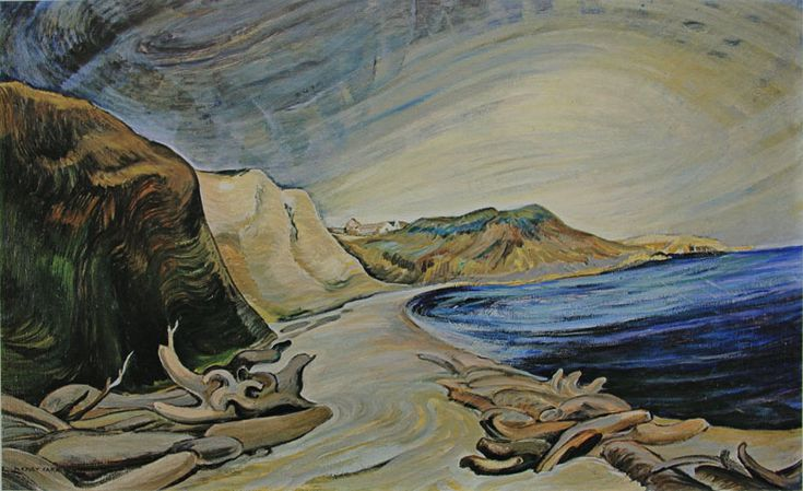 "Emily Carr - ""The Shoreline"" Group of Seven"