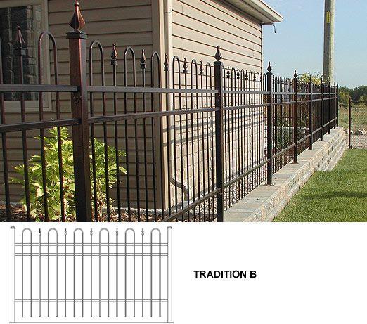 17 meilleures id es propos de cl tures de fer sur pinterest barri res en - Barriere en fer pour cloture ...