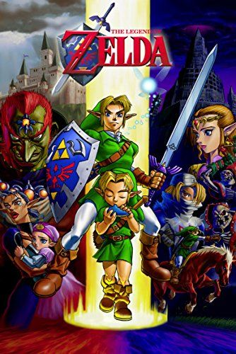 Amazon.com: Zelda (Ocarina of Time) Poster - 24x36: Posters & Prints